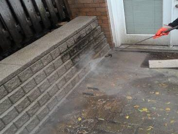 Brick restoration and new masonry cleaning